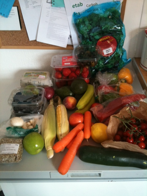 Set for the week with a fruit and veg EXPLOSION!