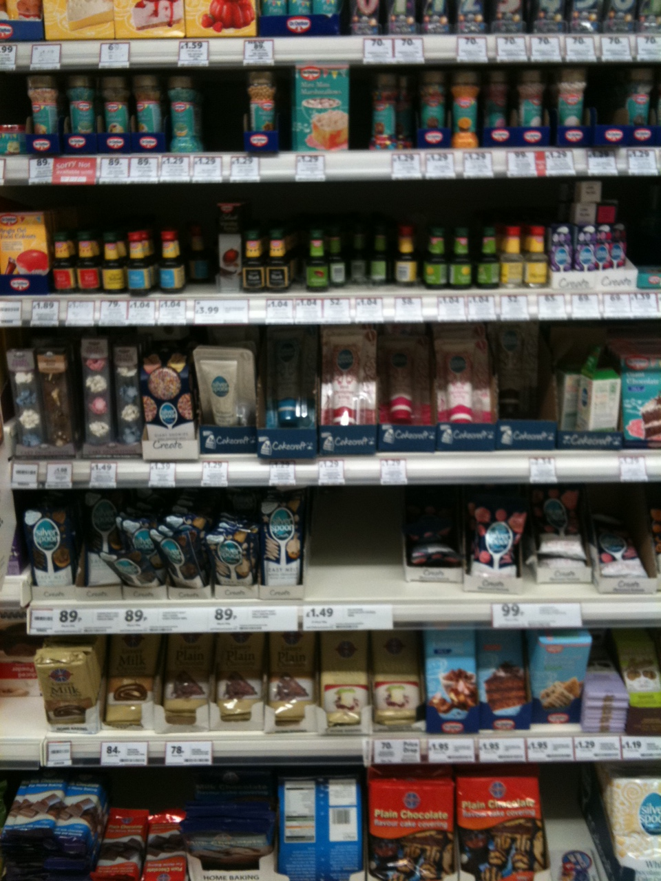 Sainsbury S Cake Decorations Sprinkles : Exciting baking supplies shopping trip! Kerry Cooks