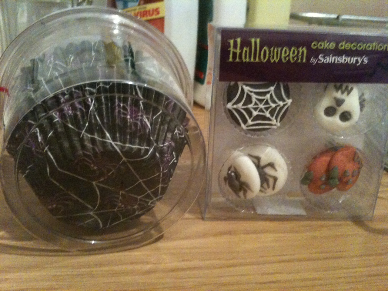 Halloween Cake Decorations Tesco : Exciting baking supplies shopping trip! Kerry Cooks
