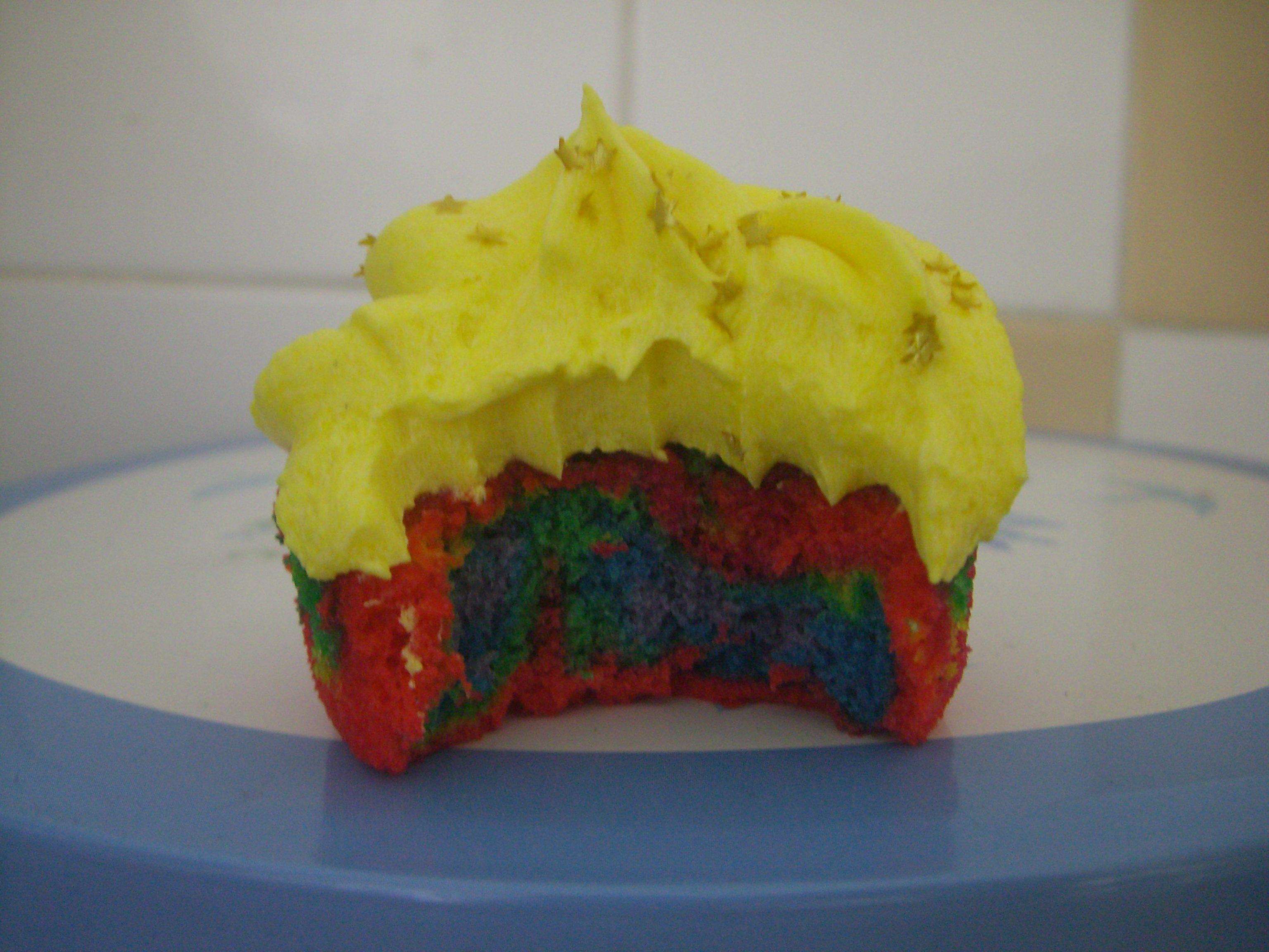 Hummingbird Rainbow Cake Calories