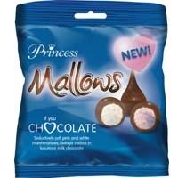 Princess Chocolate Covered Marshmallows