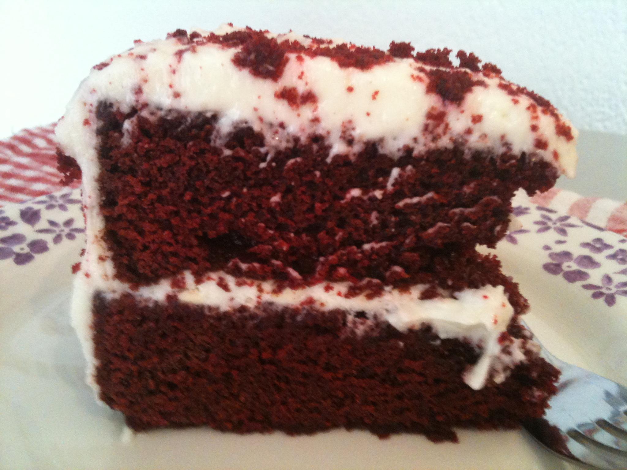 Red Velvet Cake Recept Nigella Idee D Image De Gateau