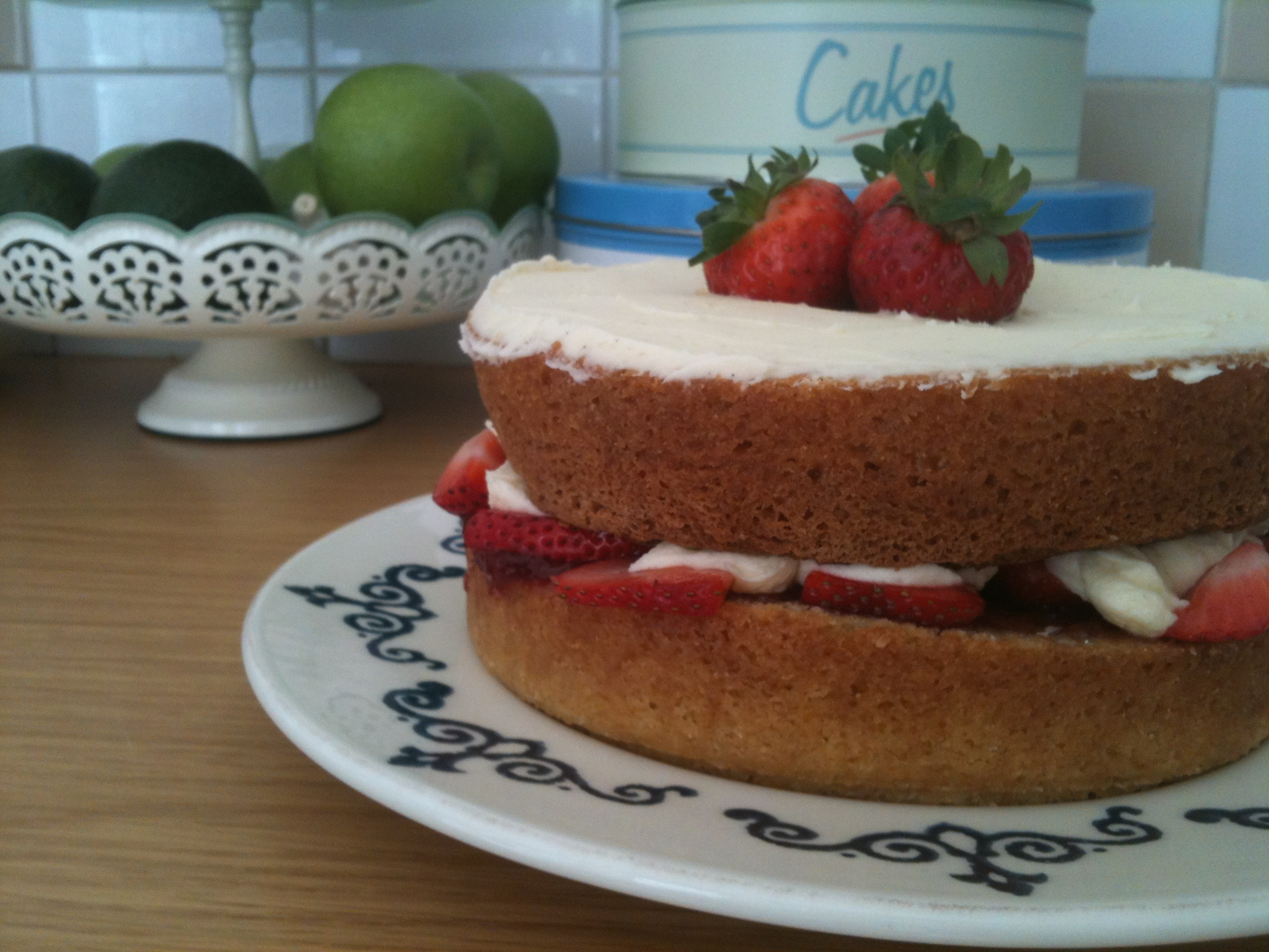 Why would a sponge cake sink in the middle?
