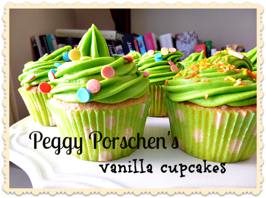Perfect Peggy Porschen Vanilla Cupcakes with Cream Cheese Frosting