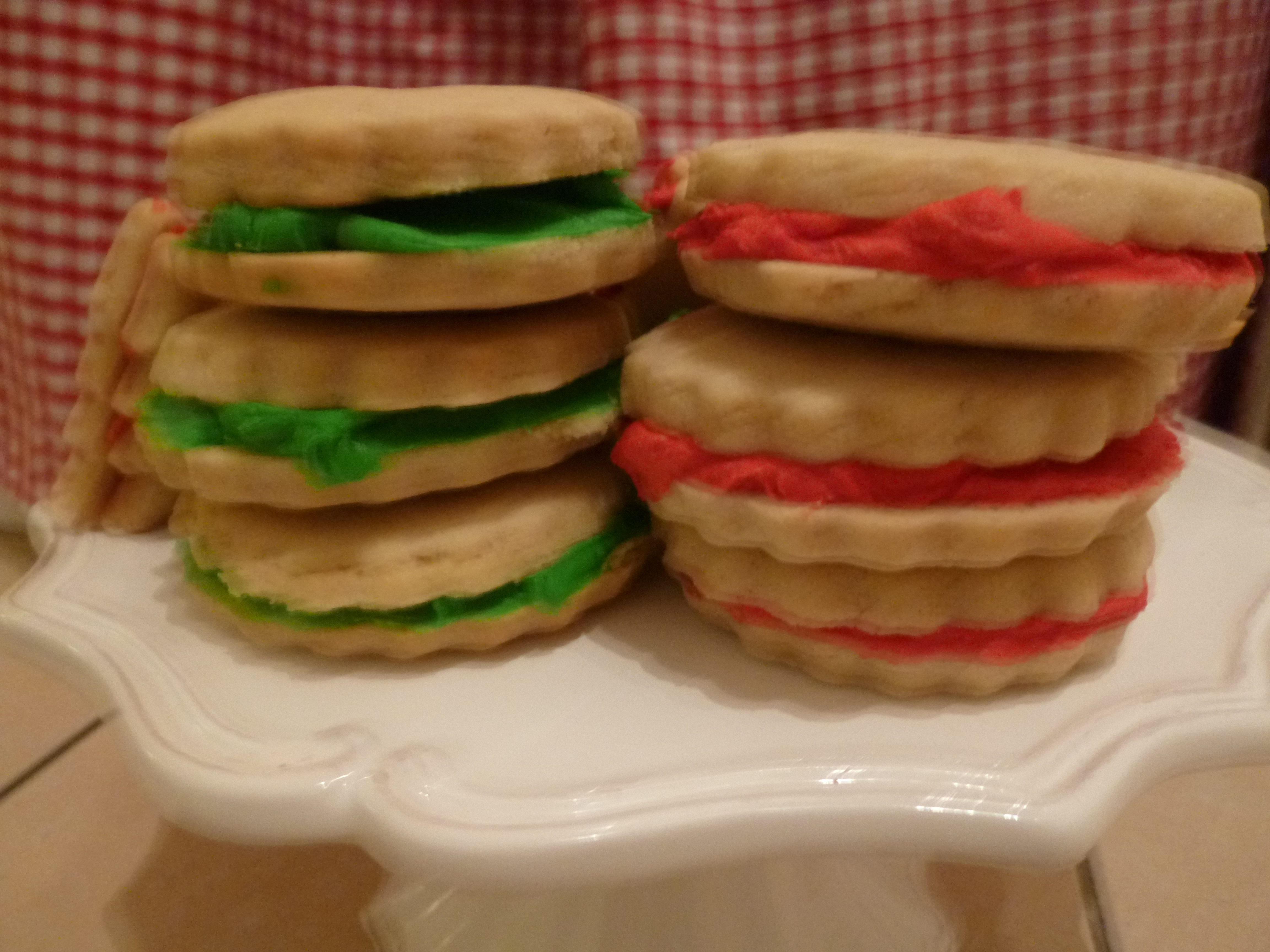 Christmas Shortbread Sandwich Cookies Kerry Cooks