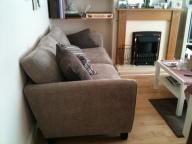 Our comfy new sofa!