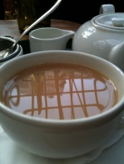 Reflections in tea